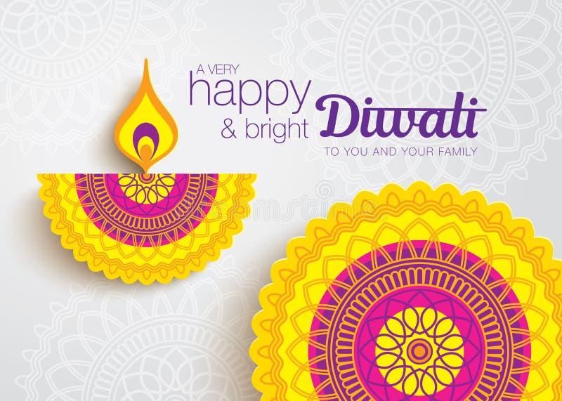 Diwali felice royalty illustrazione gratis