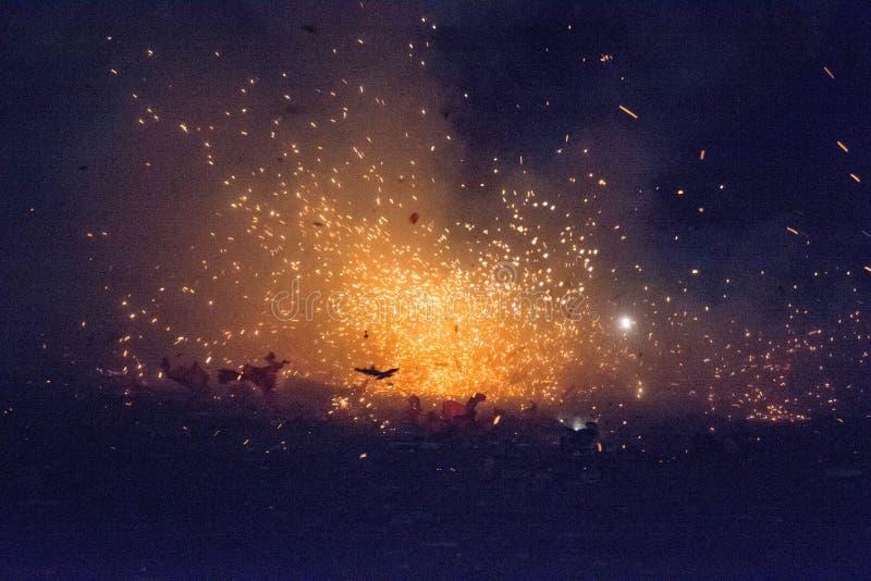 Fireworks royalty free stock image
