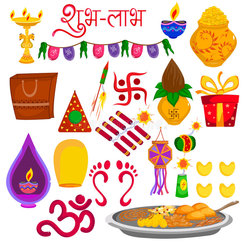 Free Diwali Festival Holiday Of India Decorative Object Stock Images - 79150784