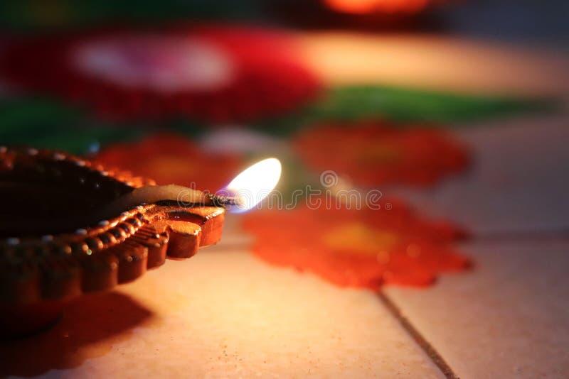 Diwali Festival illuminating Diya. Diya for Diwali festival celebration an Indian lights illuminating festival in India stock photography