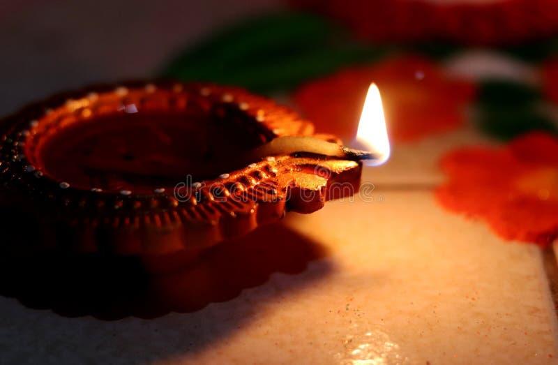 Diwali Festival illuminating Diya. Diya for Diwali festival celebration an Indian lights illuminating festival in India stock images