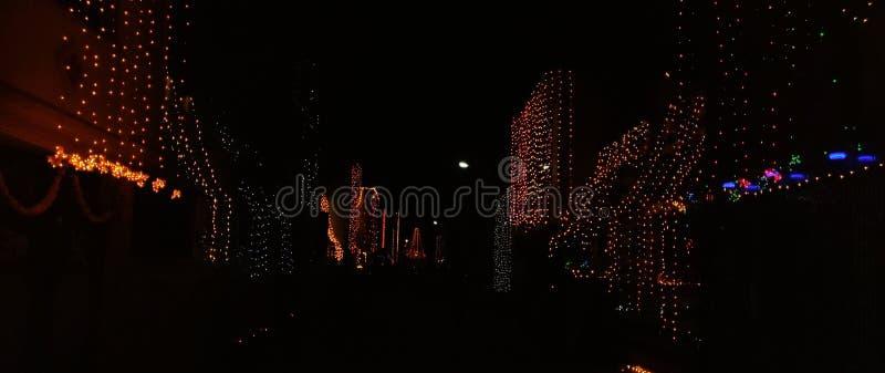 Diwali - festivalen av ljus royaltyfri foto