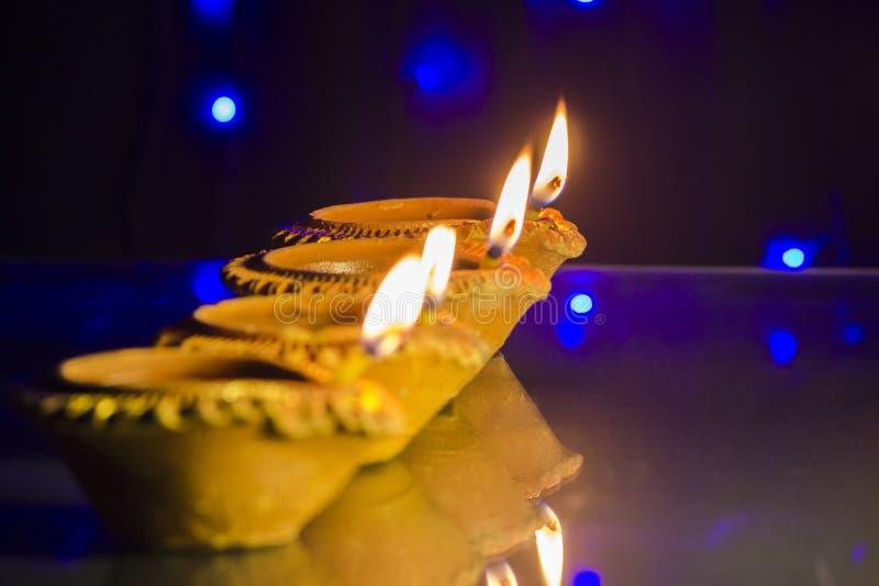Diwali festivallampa arkivfoton