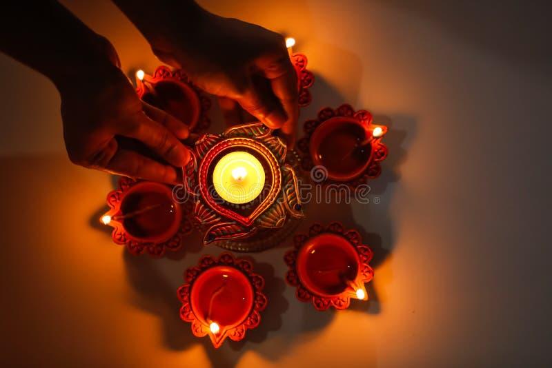 Indian Festival Diwali , Diwali lamp stock images