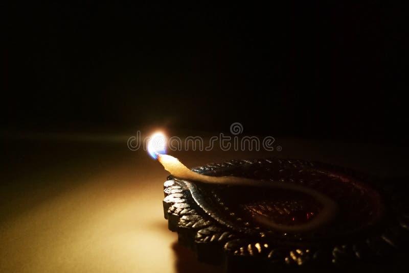 Diwali festiwalu płomienia światło zdjęcia royalty free