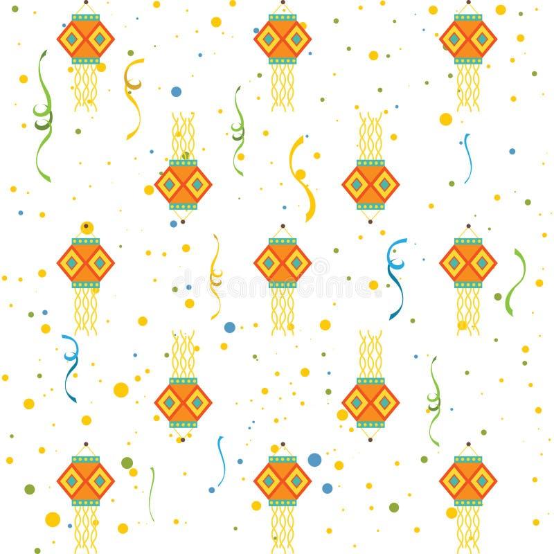 Diwali gåva stock illustrationer