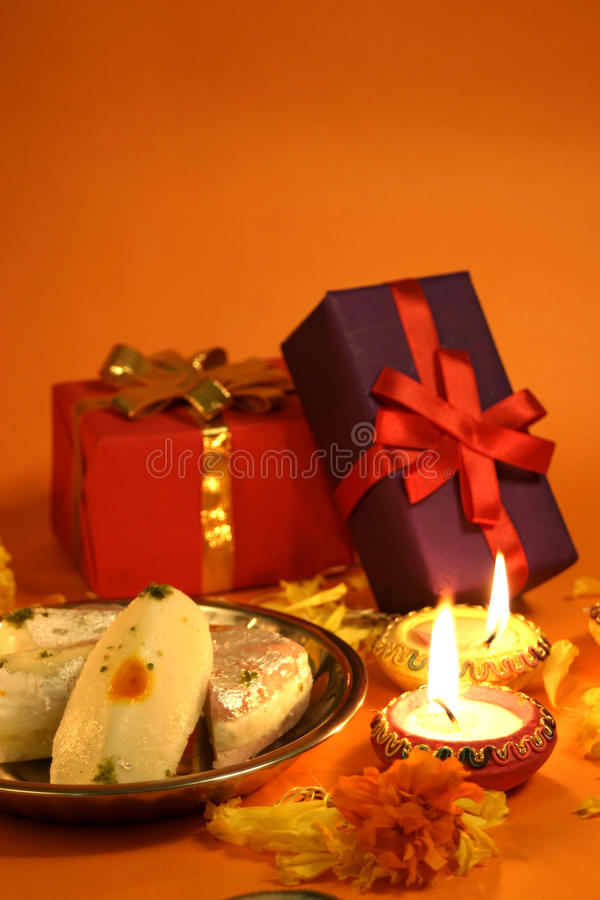 Download Diwali Gifts And Sweets Stock Photo - Image: 21490930