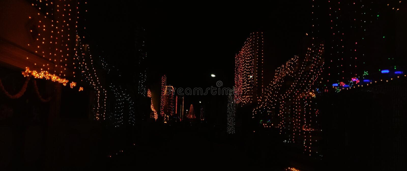 Diwali - het festival van Lichten royalty-vrije stock foto