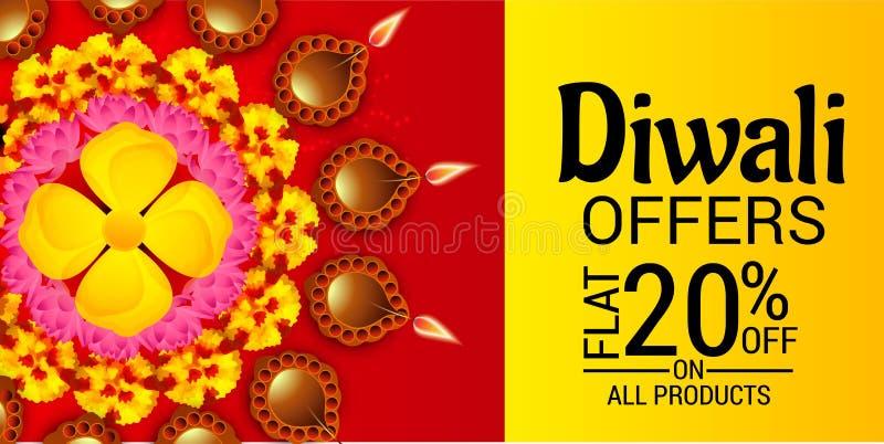 Diwali heureux illustration libre de droits