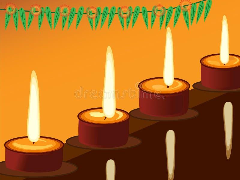 Diwali, il festival delle luci immagini stock