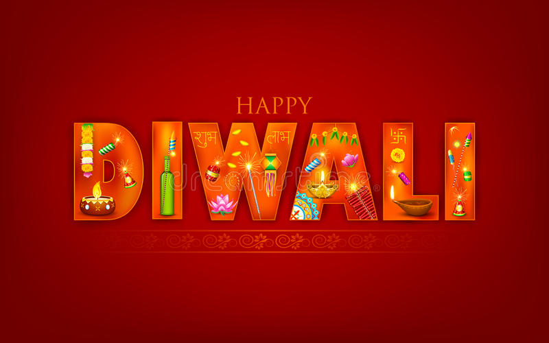 Diwali royalty free illustration
