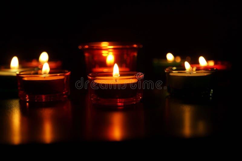 Diwali Indiański festiwal Diya z dekoracyjnym obrazy stock
