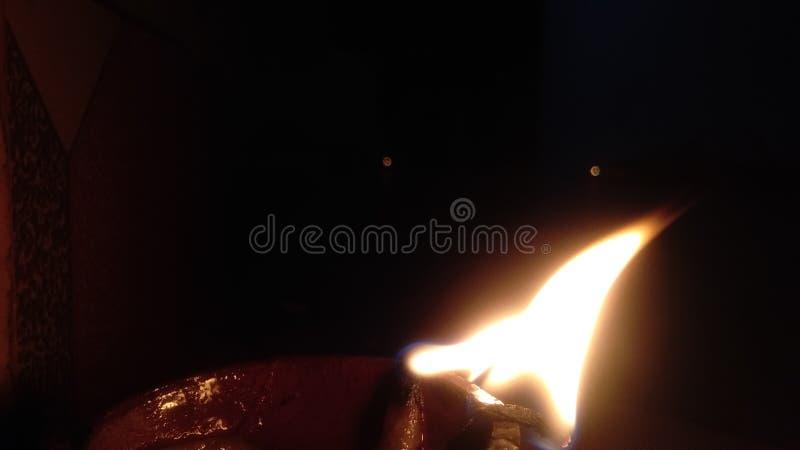 Diwali lamp or Diwali diya. Candle, light stock photos