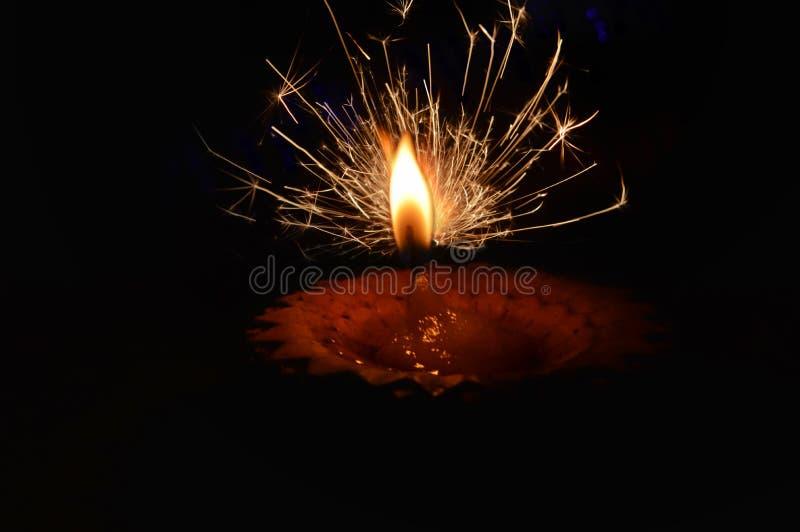 diwali lamp,hand fireworks,firework,mix firework and diwali lamp,beautiful small firework,diwali lamp top view royalty free stock photos