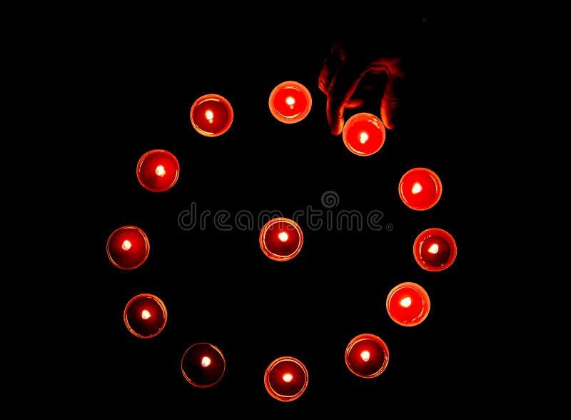 Diwali lampor royaltyfri fotografi
