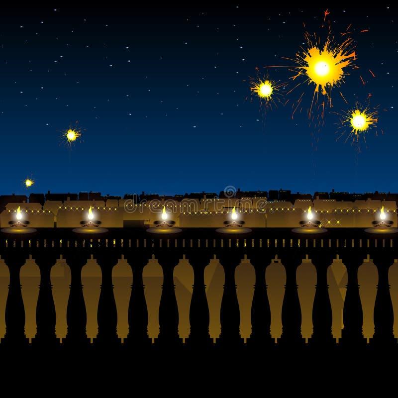 Diwali, lighting