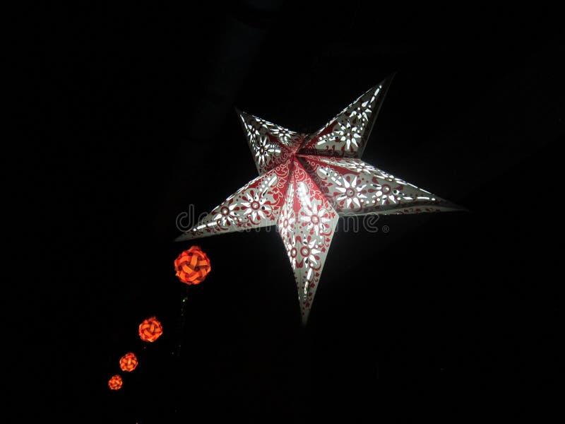 Diwali lykta royaltyfri fotografi