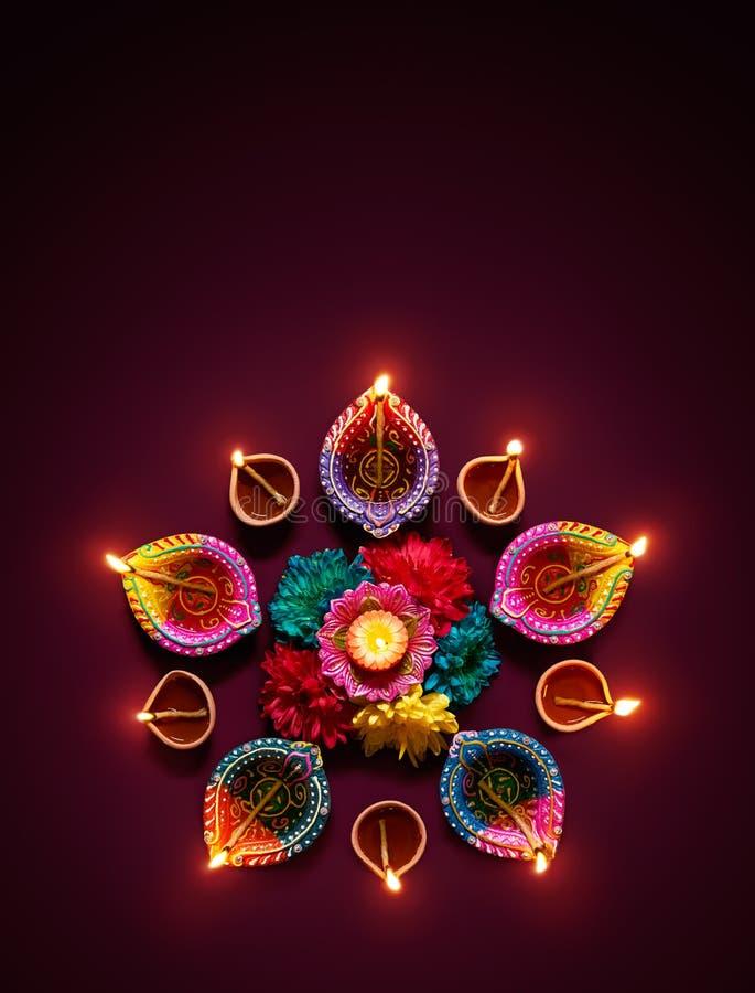 Free Diwali Oil Lamp Royalty Free Stock Photos - 95706508