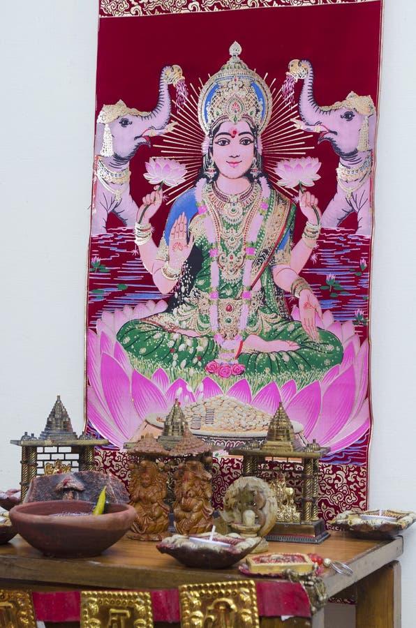 Diwali Puja στοκ εικόνες με δικαίωμα ελεύθερης χρήσης