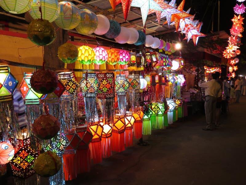 Diwali Shopping Redaktionell Arkivbild