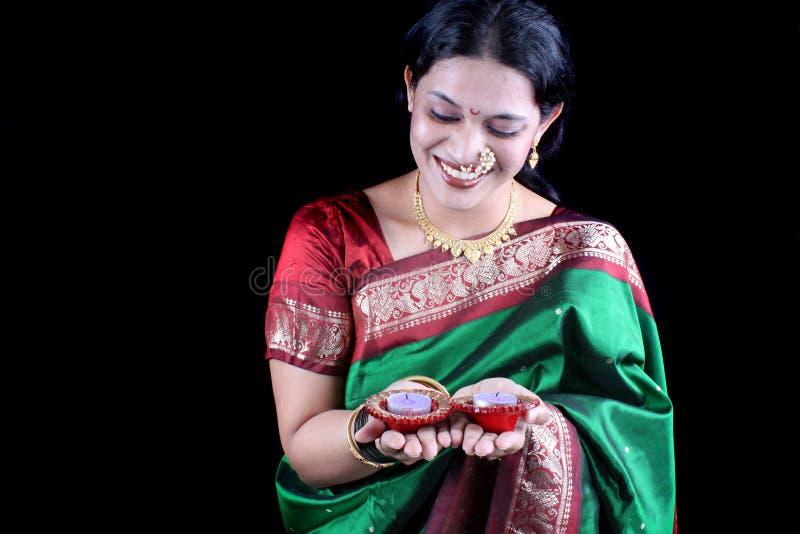 Diwali tradicional imagens de stock royalty free