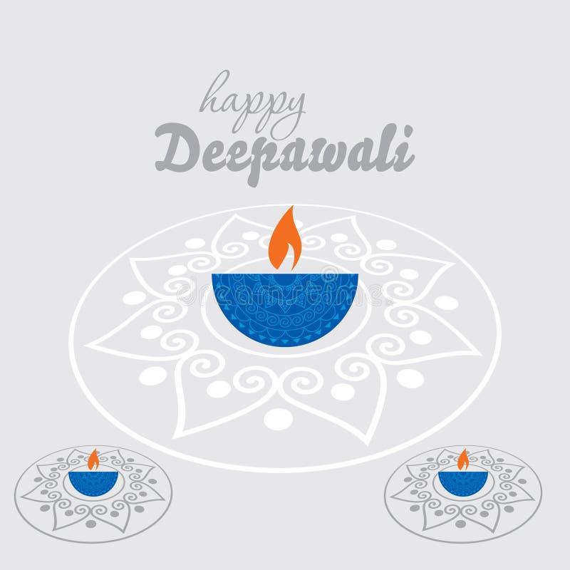 Diwaliconcept vector illustratie