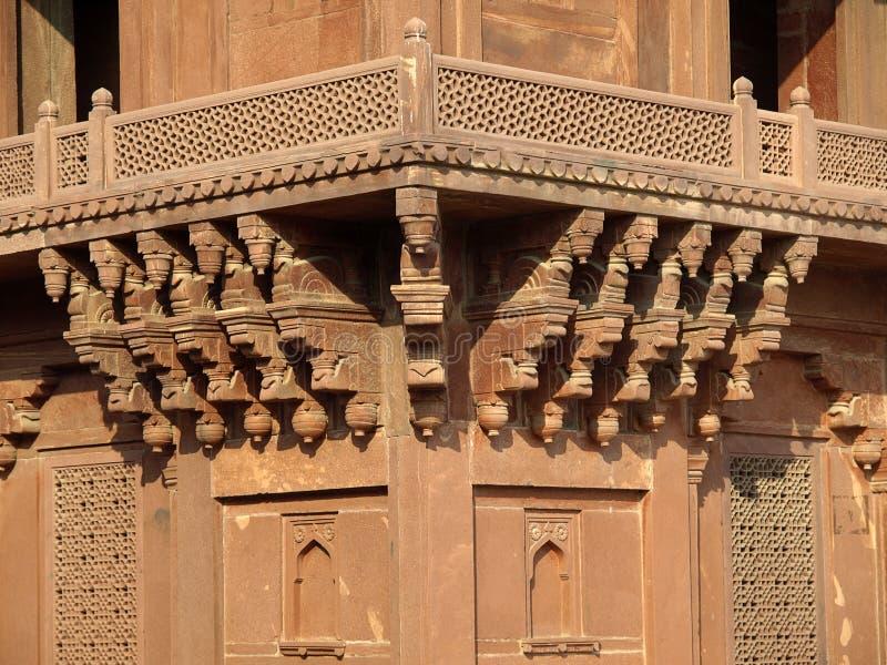 diwan fatehpur ι sikri ψαμμίτη khas στοκ εικόνα με δικαίωμα ελεύθερης χρήσης