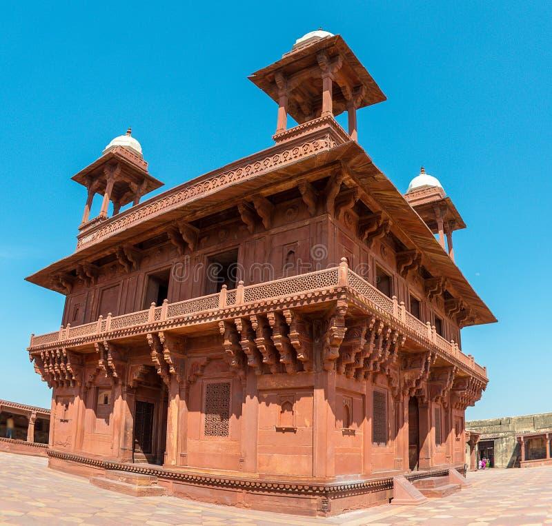 Diwan-i-Khas Hall Intymna widownia, Fatehpur obraz royalty free