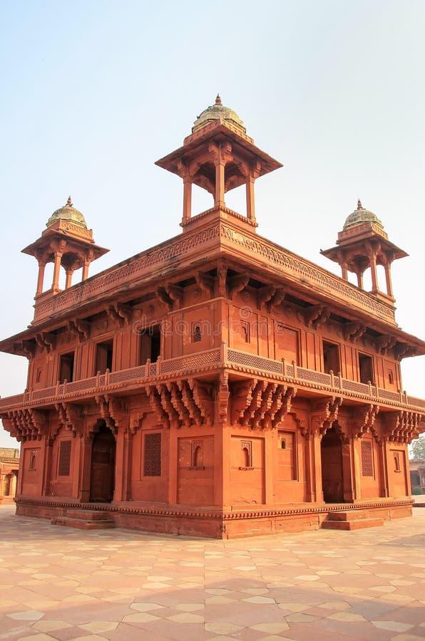 Diwan-i-Khas Hall Intymna widownia w Fatehpur Sikri, Utta fotografia stock