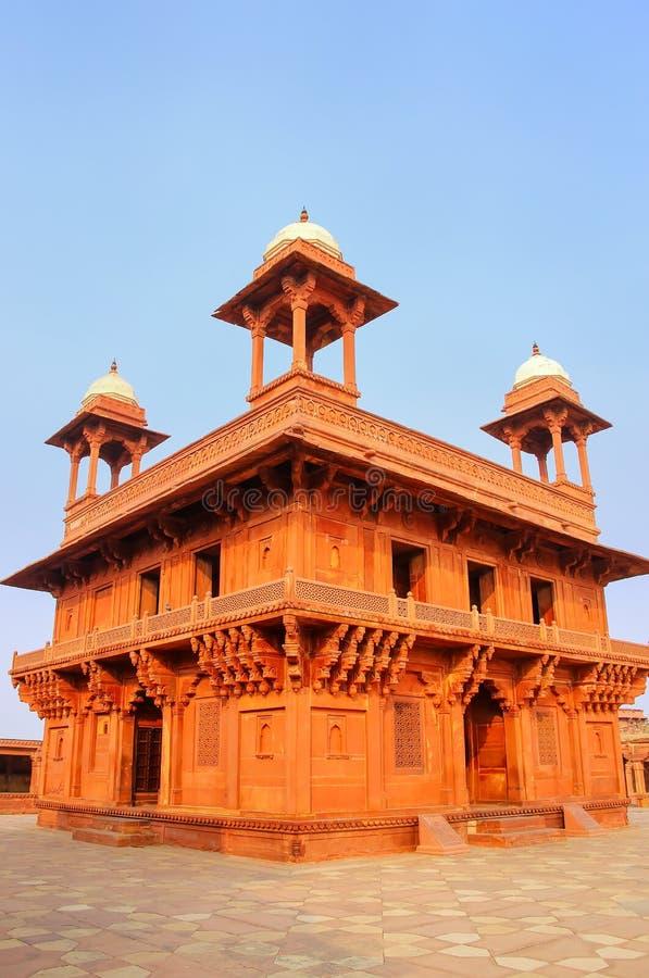 Diwan-i-Khas Hall Intymna widownia w Fatehpur Sikri, Utta zdjęcie royalty free