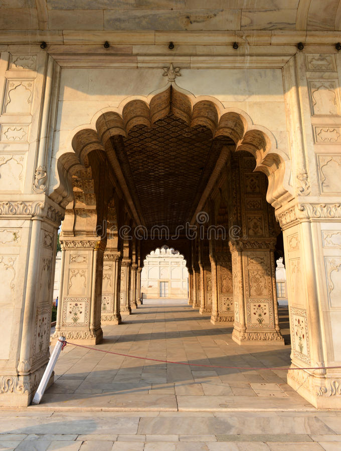 Diwan-i-Khas In Red Fort, New Delhi Royalty Free Stock Photography