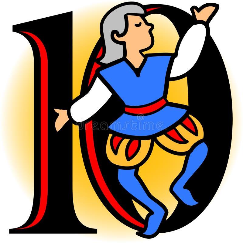 Dix seigneurs A Leaping/ENV illustration de vecteur