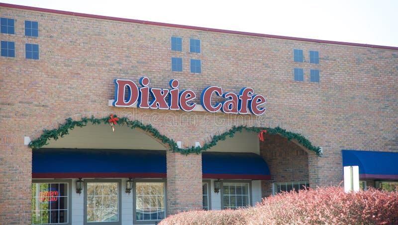 Dixie Cafe, Bartlett Tennessee stock fotografie
