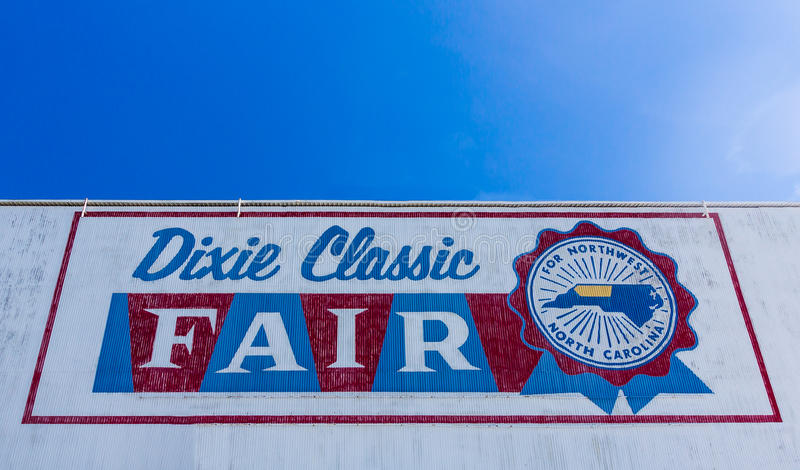 Dixie Classic Fair royalty-vrije stock fotografie