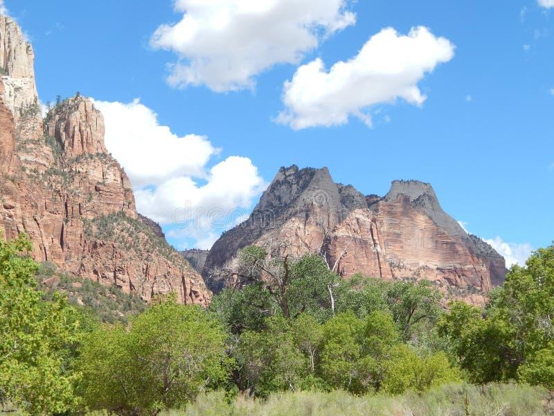 Dixie Forest Rock Mountains foto de archivo