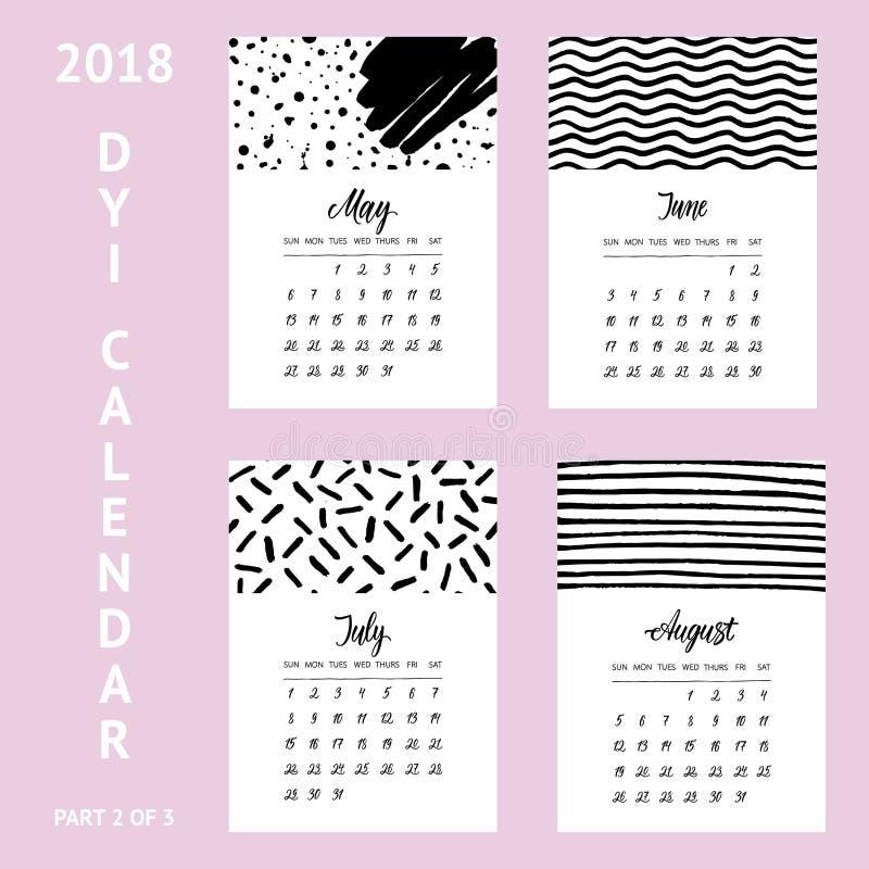 Diy Photo Calendar Template Bananaz