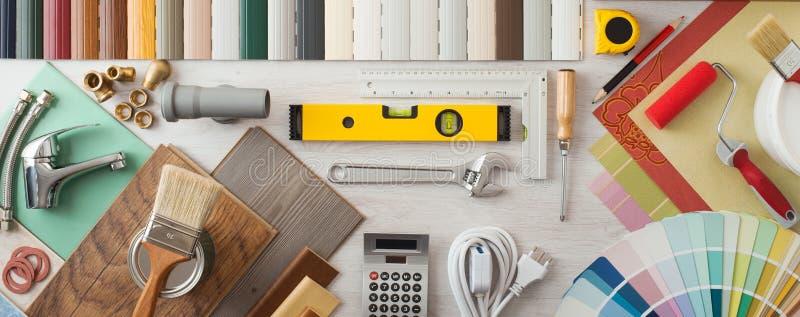 DIY et rénovation à la maison image stock