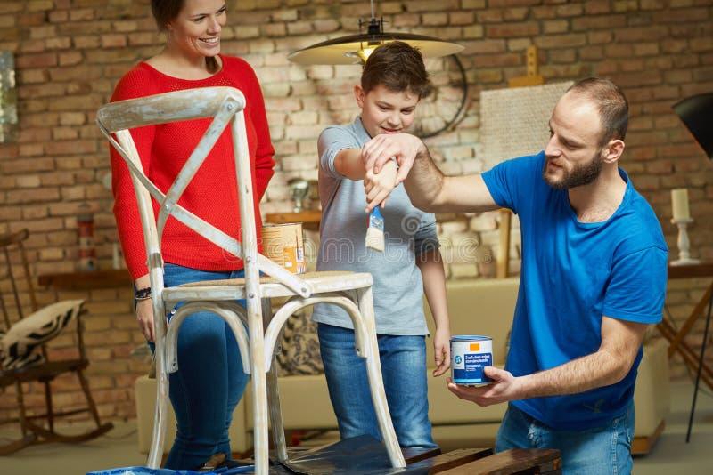 Diy familj fotografering för bildbyråer