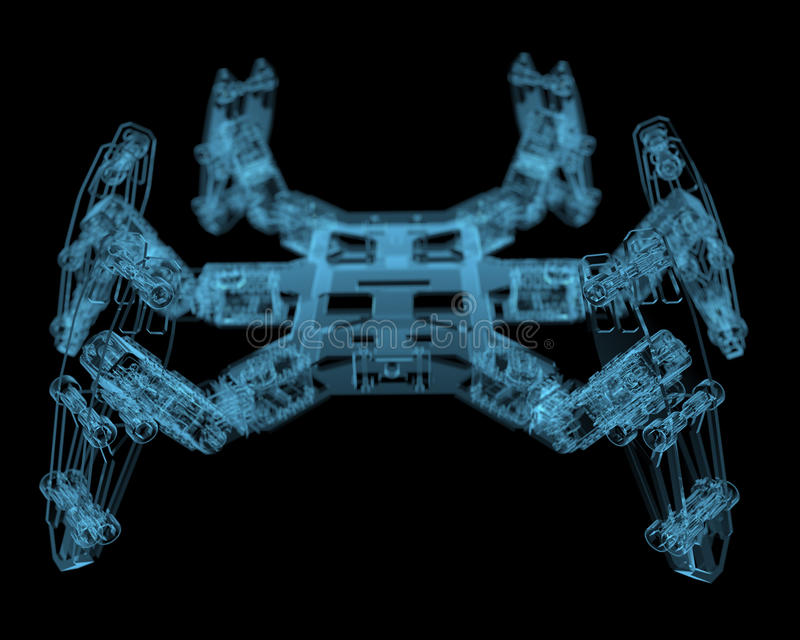 DIY Hexapod Robot Royalty Free Stock Photography