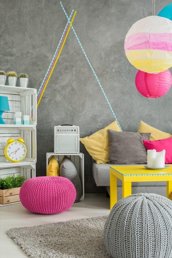DIY home design idea stock image
