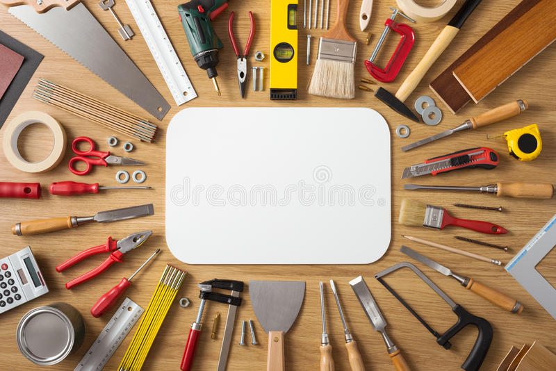 Diy and home improvement banner stock photo image of for Wallpaper home improvement