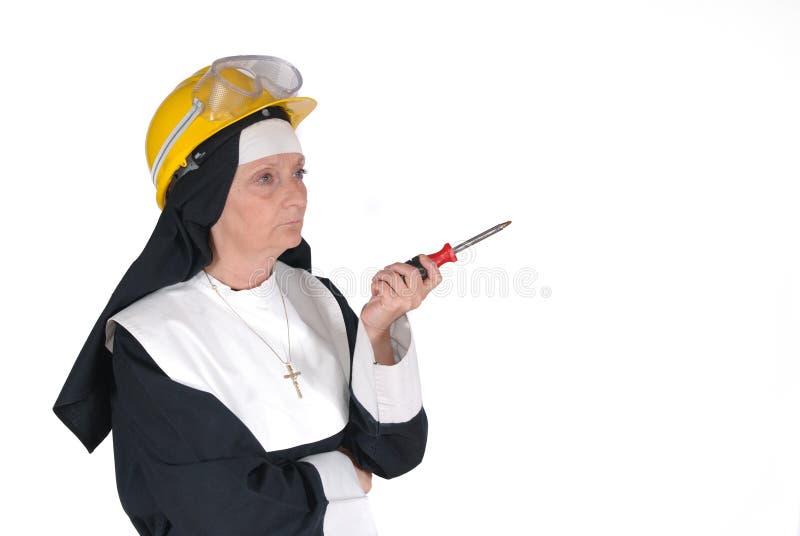 DIY nun, sister stock image