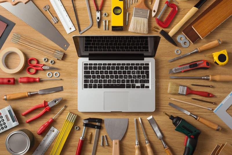 DIY och nya tekniker arkivfoton