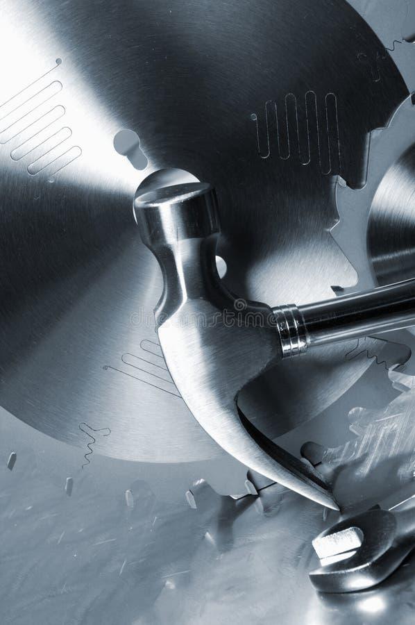 diy rostfritt stålhjälpmedel arkivfoto