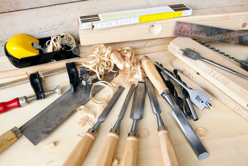 DIY tools - close up royalty free stock photo