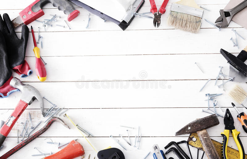 DIY tools royalty free stock images
