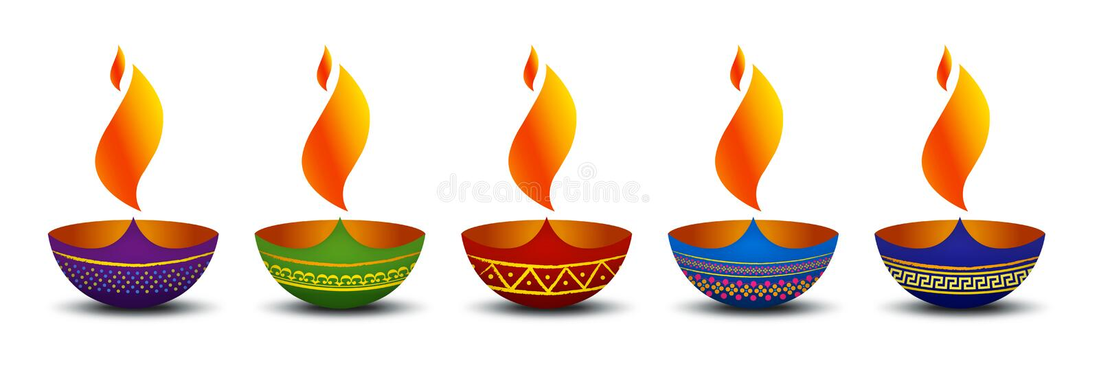 Diya. Is the symbol of prosperity, peace and happiness in Hinduism. It is a symbol of Festivals especially Diwali