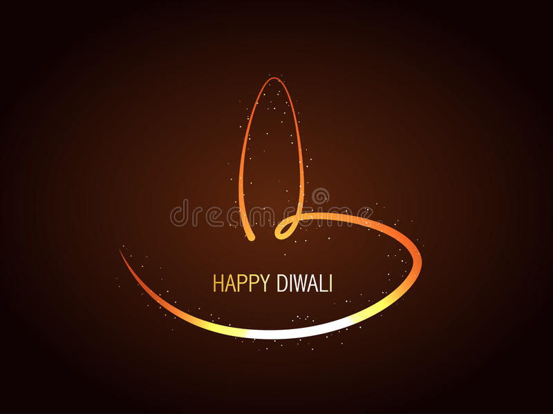 Diya creativo di diwali royalty illustrazione gratis