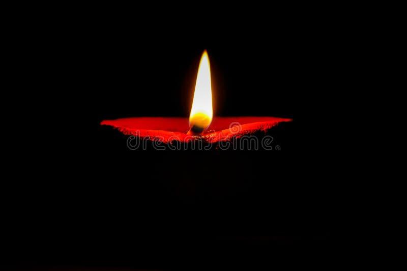 Diya de Diwali fotografía de archivo libre de regalías