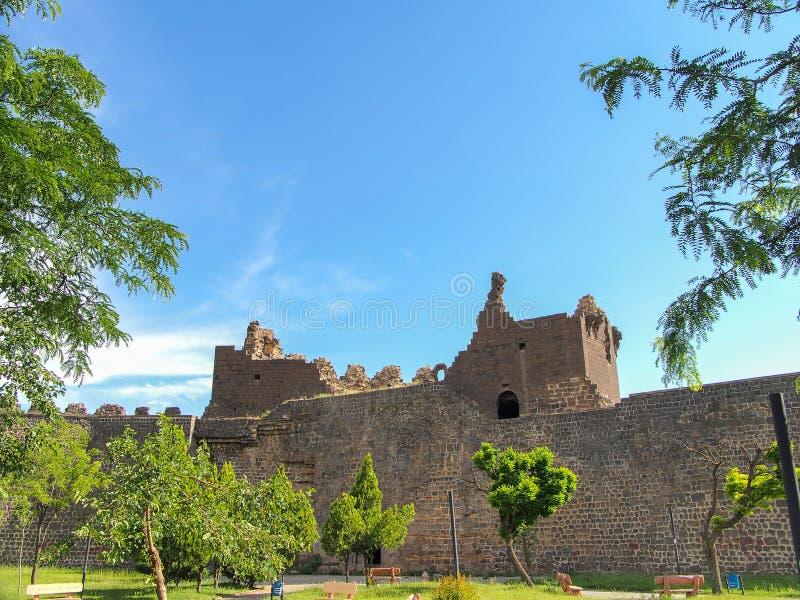 Diyarbakir, ιστορικοί τοίχοι της Τουρκίας στοκ φωτογραφία με δικαίωμα ελεύθερης χρήσης